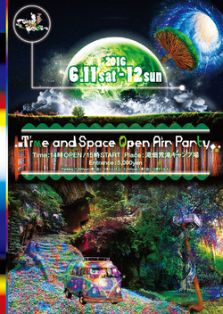 Time and Space Open Air Party