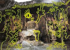 龍門洞窟 in China