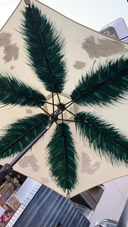 Umbrella paint