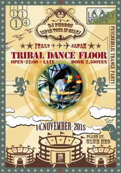 TRIBAL DANCE FLOOR