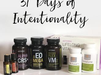 31 Days of Intentionality
