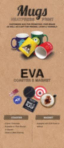 Mugs, Coaster, Fridge Magnet