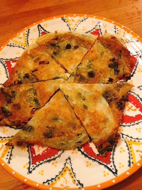 Onion Pancake手工蔥油餅 一份4片(球狀生麵糰出貨)