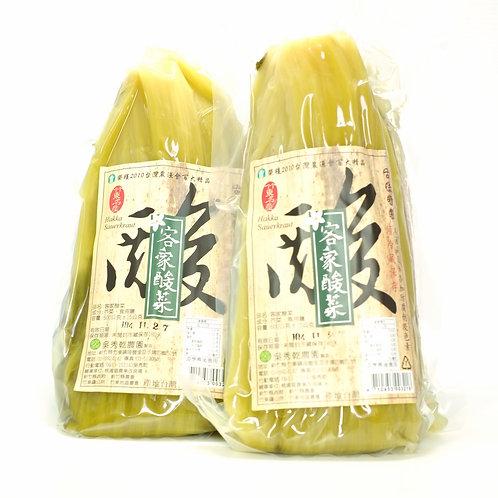新竹特產 吳秀乾農園 酸菜 一包