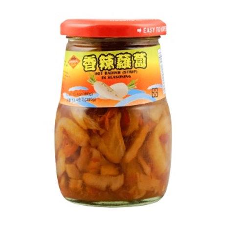 Chili Radish Strips 御品香辣味蘿蔔