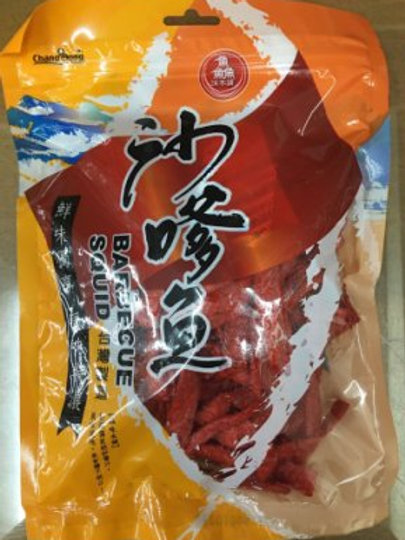 Barbecue Squid 沙嗲魚條