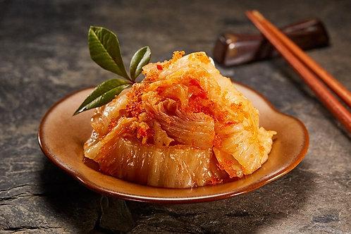 蒸燴煮 黃金飛魚卵泡菜