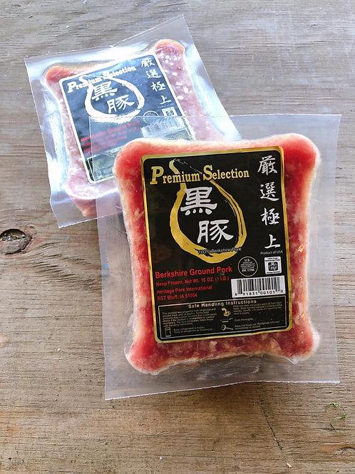 Berkshire Ground Pork 嚴選極上 黑豚絞肉 一份2包