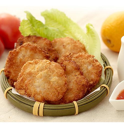 Handmade Cuttlefish with Shrimp Steak 手工花枝蝦排
