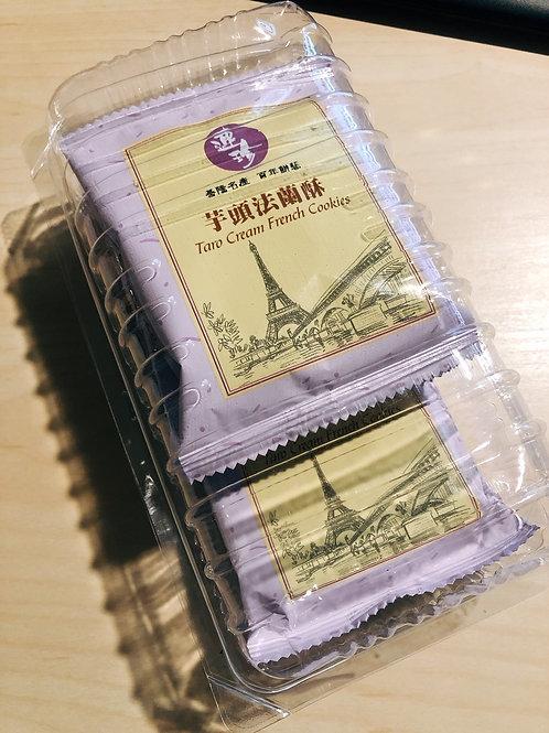 連珍 芋頭法蘭酥 一盒6片