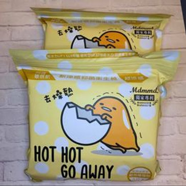蛋黃哥衛生棉 超涼感衛生棉夜用加長41公分( 一包5入)