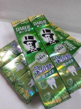 台灣 黑人牙膏-龍井綠茶(每條160g)