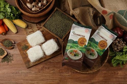 Organic Pure Mung Bean Thread 台灣中農有機100%純綠豆冬粉