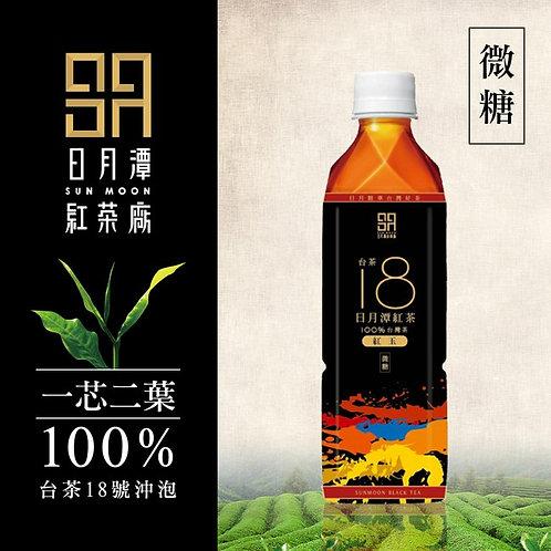 喝喝茶 日月潭紅茶 台茶18號 含糖一瓶