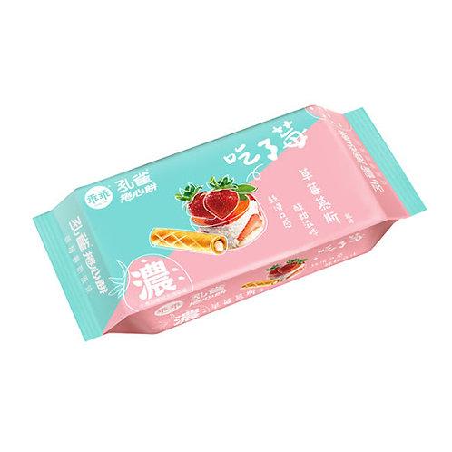 孔雀捲心餅 草莓慕斯