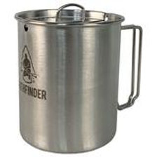 Pathfinder Stainless Steel 25 oz Cup & Lid Set