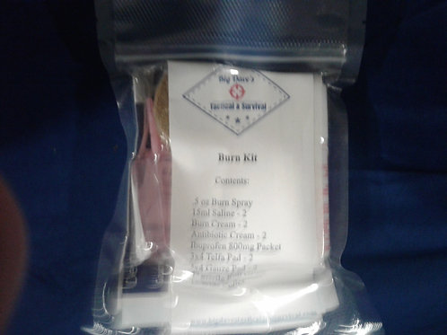 ***Add On*** 1st Aid Minor Burn Kit