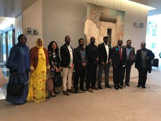 فعاليات ومشاركات المعهد الافريقي الدولي للسلام