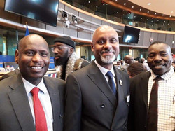 AFIIP Team participating in the Parliame