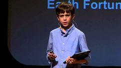 Boy Making a Presentation, Speaking in Public, gravitas academy uk