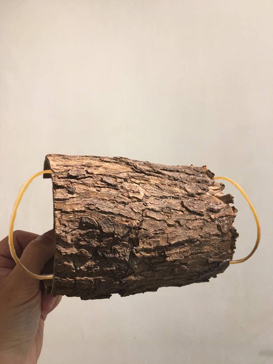 wood tree dark mask