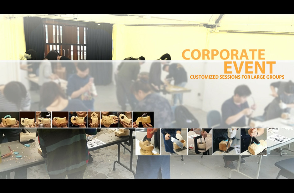 Welcome to quote CORPORATE EVENT for wood workshop