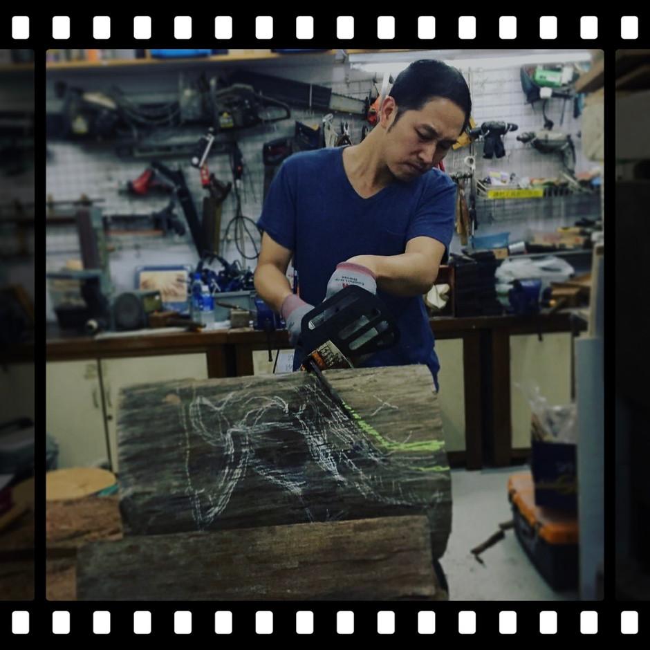 make a horsesculpture~