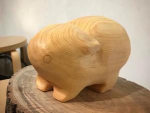 天竺鼠木雕