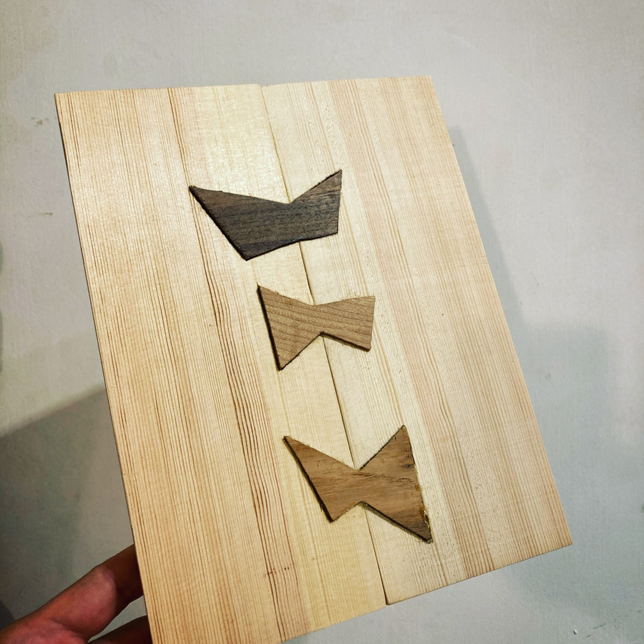 Join two pieces of wood