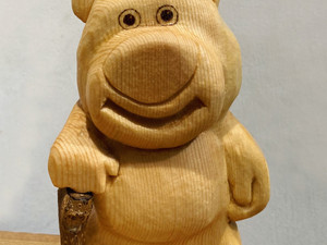 Lotso wood sculpture~