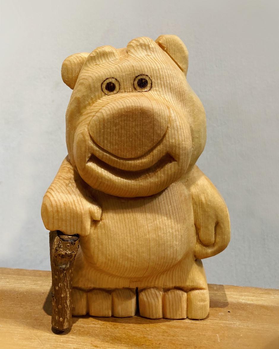 Lotso wood sculpture~