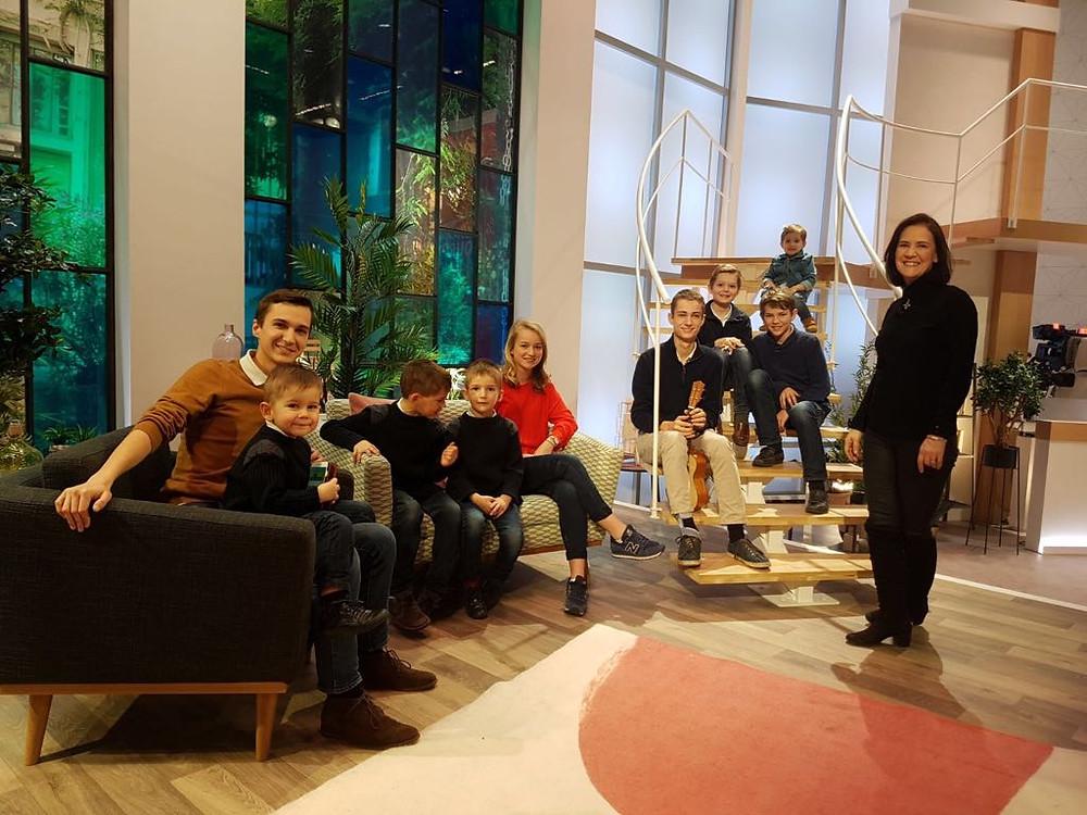 """Jubilate à l'émission """"Ça commence aujourd'hui"""" sur France 2"""