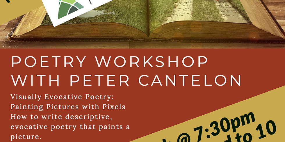 Third Thursdays Poetry Workshop w/ Peter Cantelon