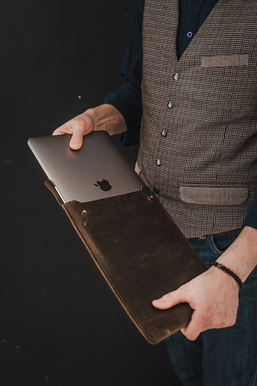 Leather Sleeve MacBook  / Leather Laptop Case