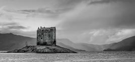 Castle in the Stream, Scotland