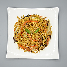 Colorful Vegetables Lo Mein or Rice Noodles