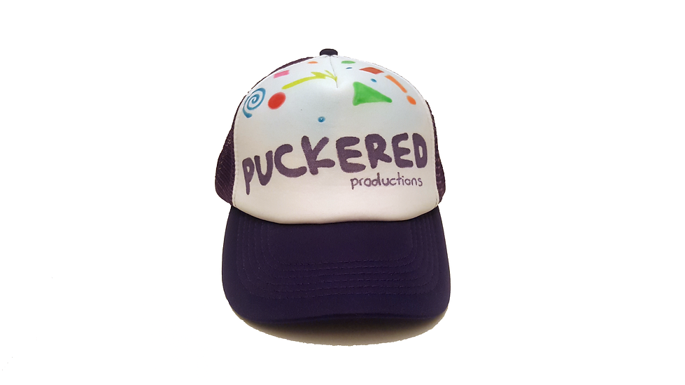 Quirky trucker hat