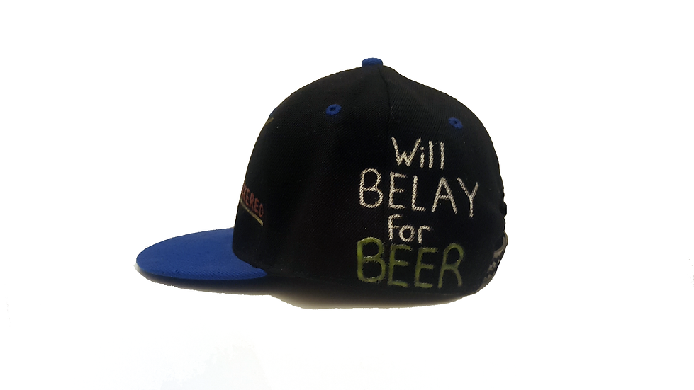 Will Belay for BEER! 2 colours