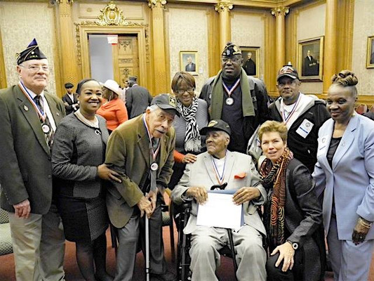 CM Mealy & World War II Veterans