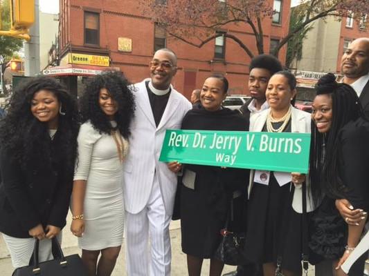 CM Mealy @ Rev. Dr. Jerry V. Burns Way