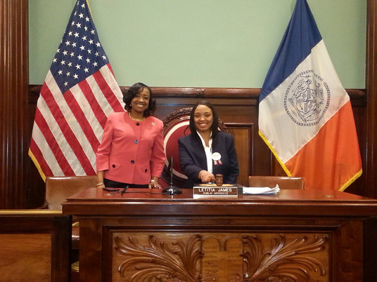 CM Mealy & City Council Aide