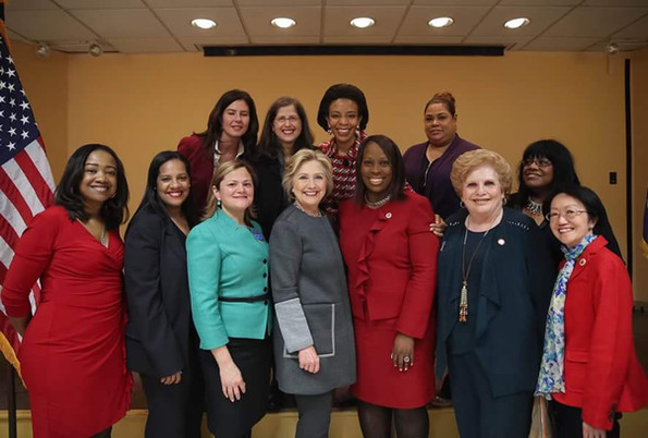 CM Mealy & Hiliary Rodham Clinton @ DC 37