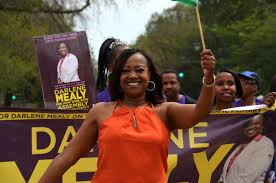 CM Mealy @ Labor Day Parade