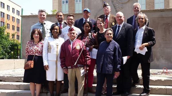 CM Mealy & Brownsville Jewish War Veterans