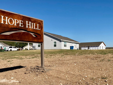 HOPE HILL IS NOW COMPLETe!