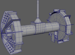 Moondiver Rover WireFrame