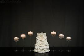 Expanding Rose Cake - Queenstown Wedding