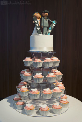 Rich Bailey - Cupcake Tower with Figurin