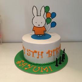 Hello Miffy Cake