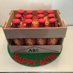 Crate of Beer Cake